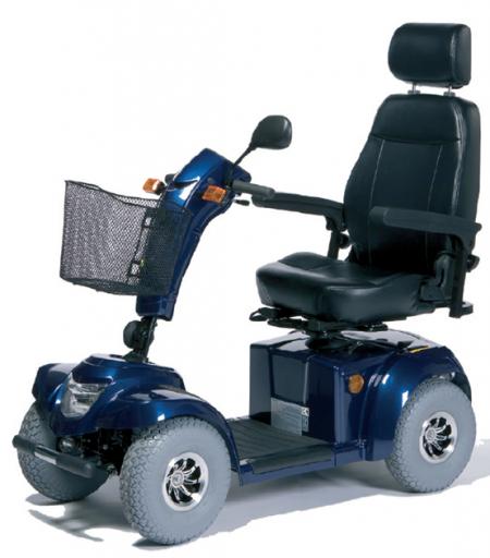 Scooter freigestellt